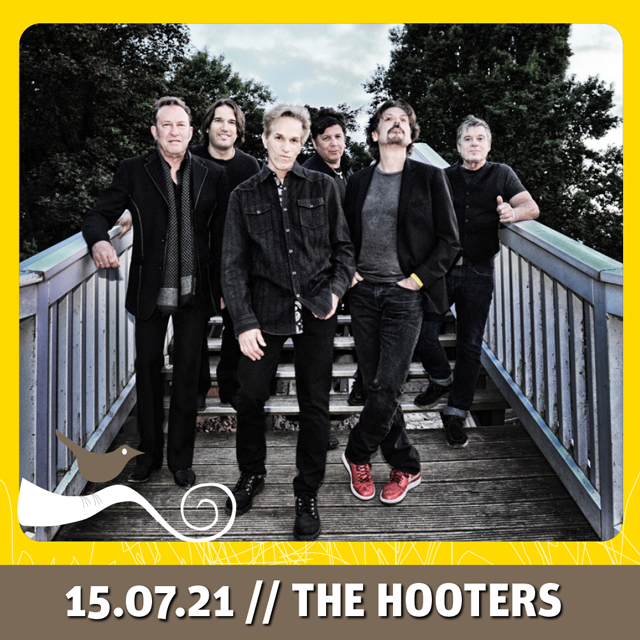 15.07.2021 //  THE HOOTERS // DO 20:00 Uhr